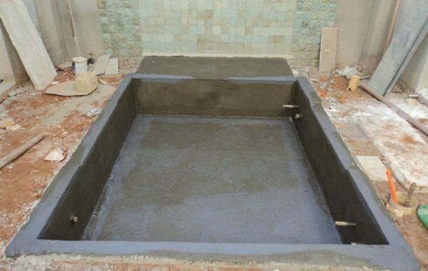 Impermeabilização de espelho d'água