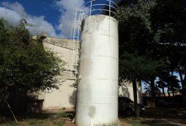 Impermeabilização de reservatório com P.U.