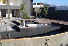 Impermeabilização de piscina com P.U Vegetal